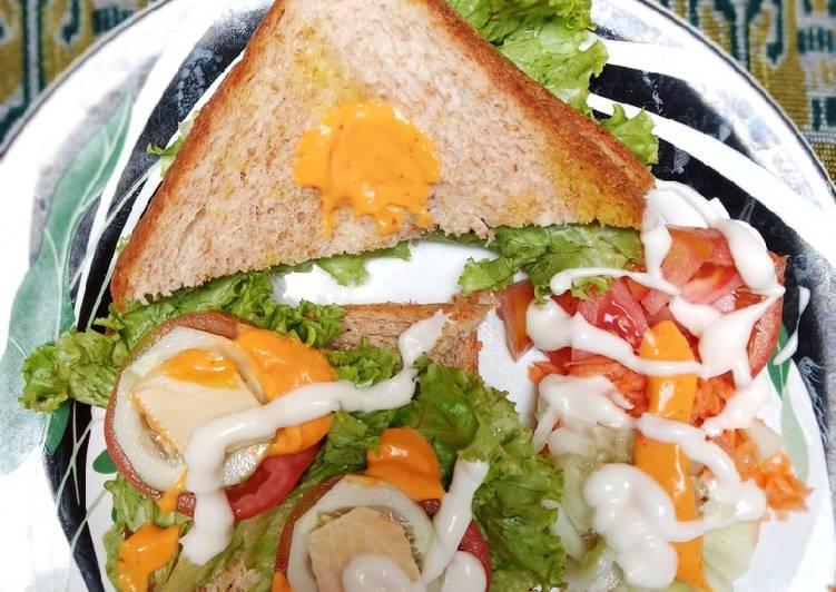 Resep Sandwich ala ala Paling Gampang