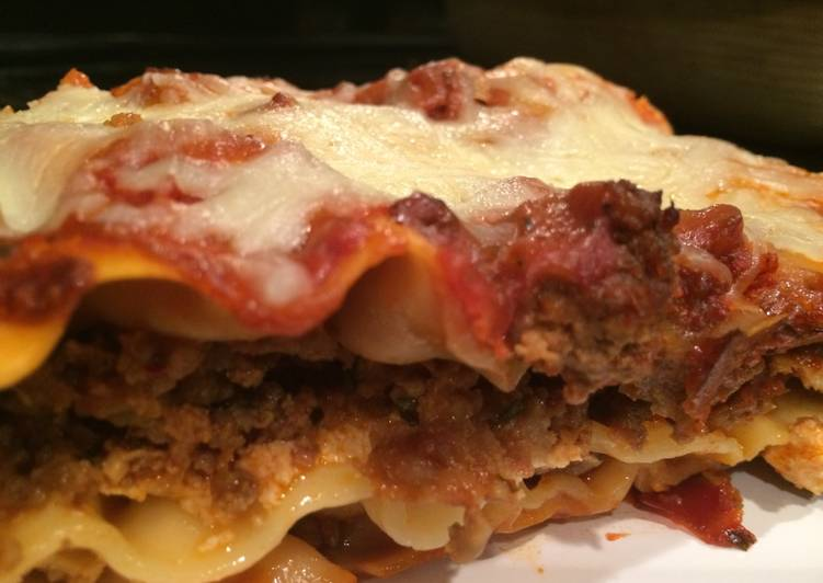 Recipe: Delicious Lasagna