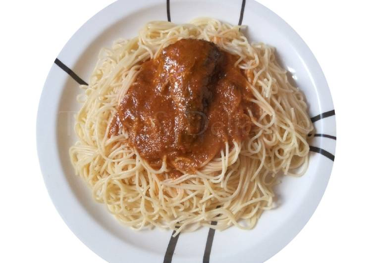 Step-by-Step Guide to Make Quick Spaghetti and Fish Stew
