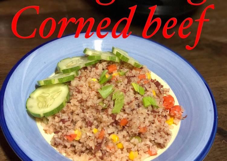 Cara Mudah Masak: Nasi goreng corned beef  Terbaru