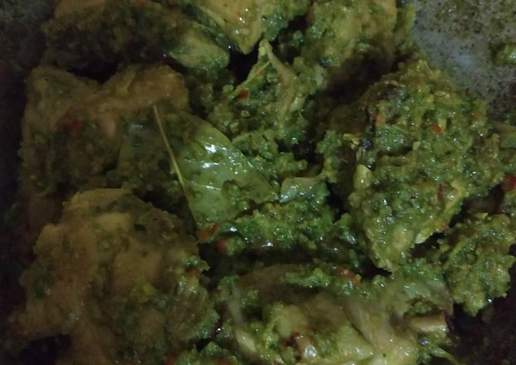 Ayam cabe ijo / masakan padang mami dava