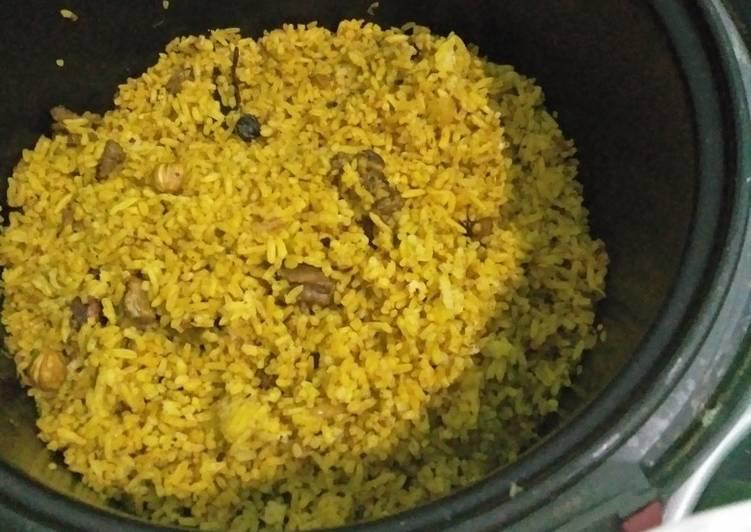 Nasi Kebuli Ricecooker (Resep asli Arab, bukan versi lokal) - cookandrecipe.com