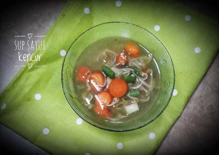 Sup sayur kencur