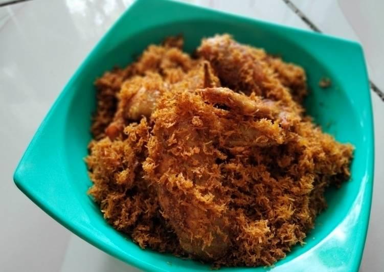 Resep Ayam goreng bumbu serundeng, Bisa Manjain Lidah