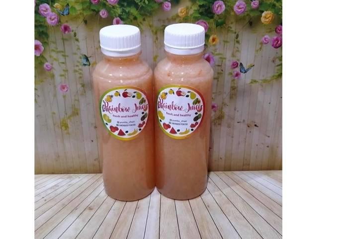 Diet Juice Apple Lemon Tomato Grape Sea Moss