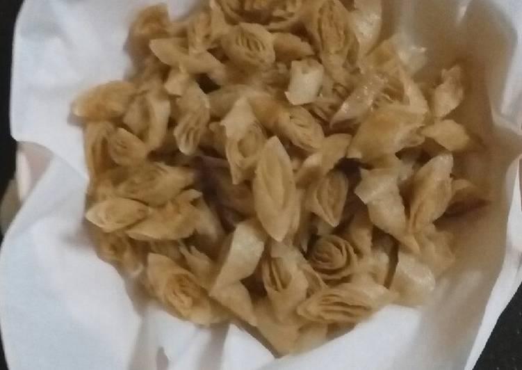 Cemilan kulit lumpia