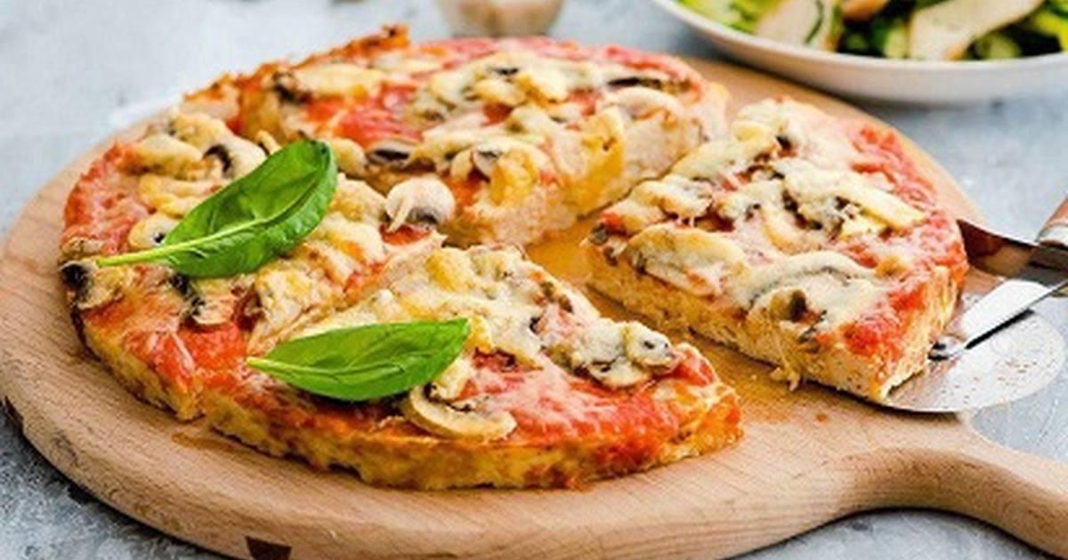 кристалл низкокалорийная пицца рецепт с фото столько времени