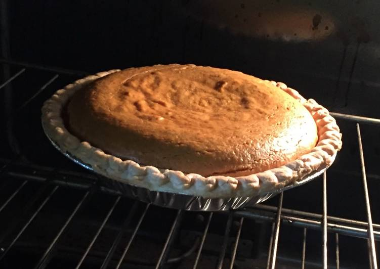 Nanan's Pumpkin Pie