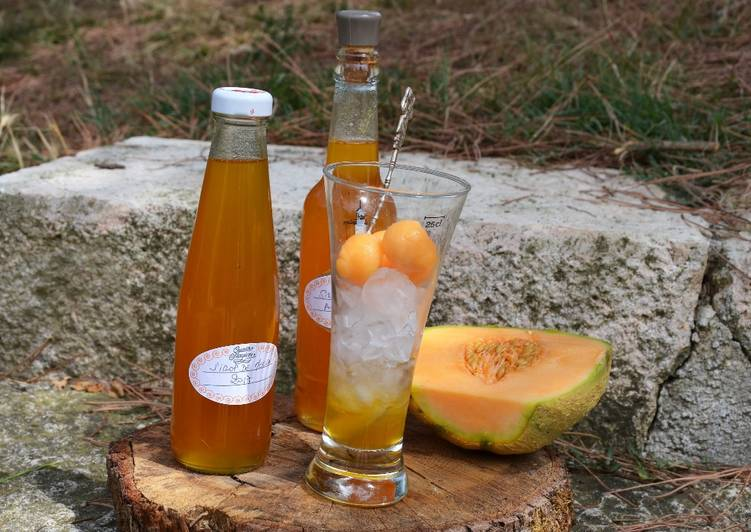 Recipe: Perfect Sirop de melon