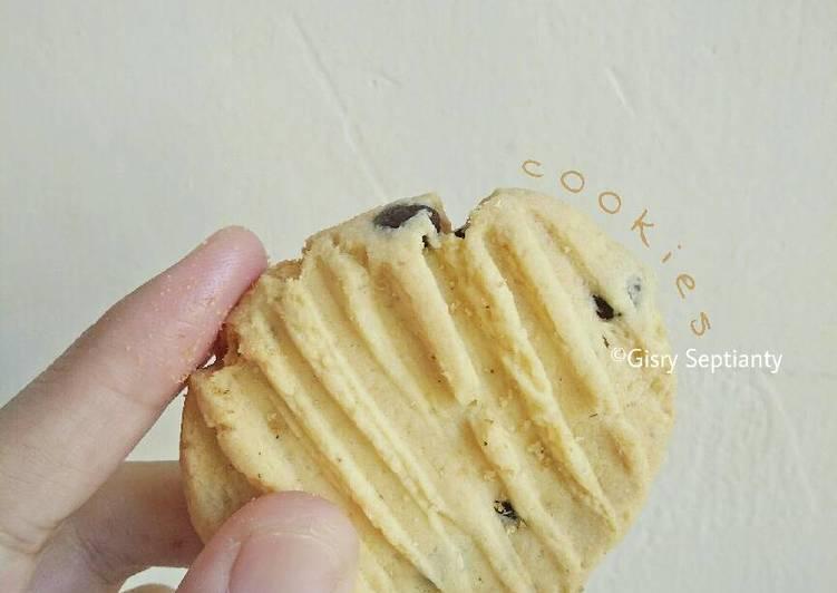 Vanila Chocochip Cookies Gluten Free (ladang lima)