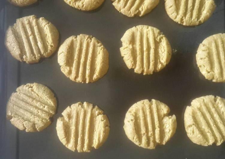 Matcha almond cookies keto #ketopad_cp_anekakuker