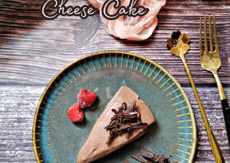 Non baked Chocolate Cheese Cake