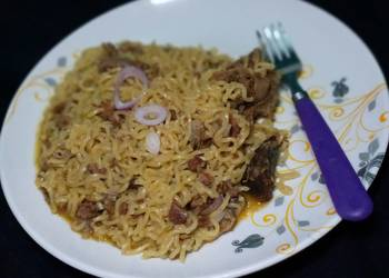 Easiest Way to Cook Perfect Goat meat Noddles