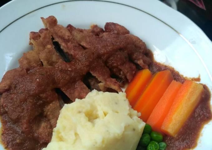Crispy Beef Steak