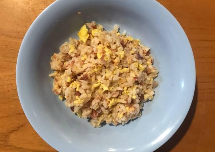 Makanan Anak Nasi Goreng Telur Kornet