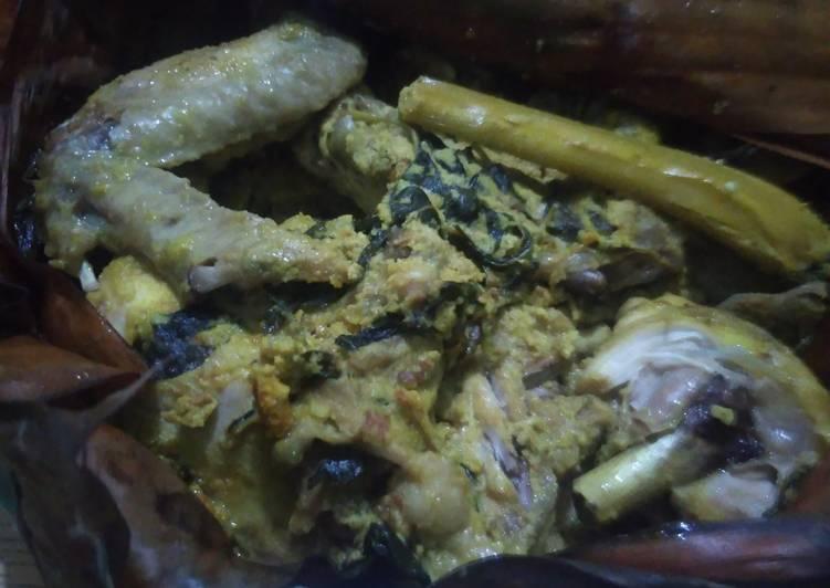 Ayam ungkep presto bumbu kuning ala suki