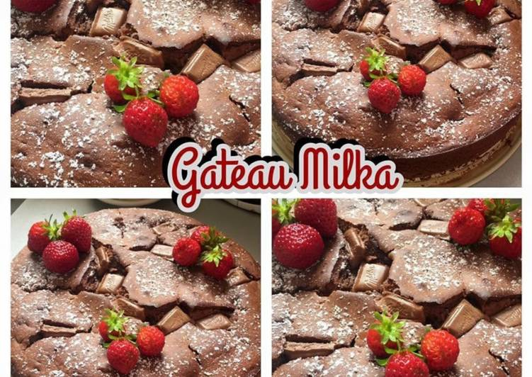 Recette De �Gâteau au chocolat Milka�