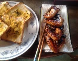 Alitas de pollo horneadas LuisFy.
