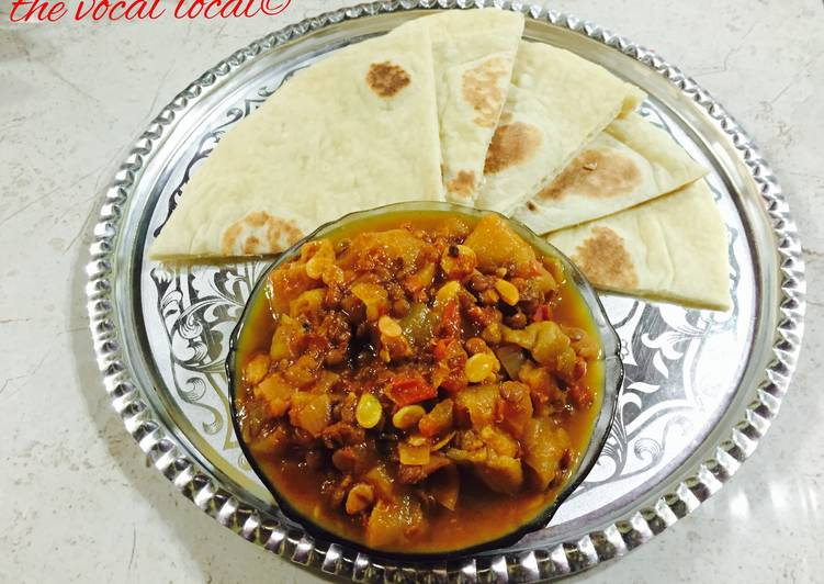 10 Minute Dinner Ideas Royal Jingee Sambar and Naan Roti