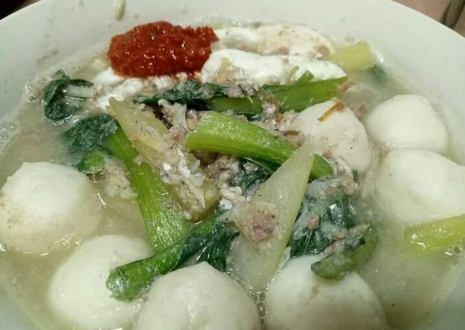 Mie Ikan Teri Soup