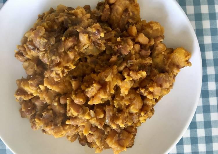 Beans & Plantain Porridge
