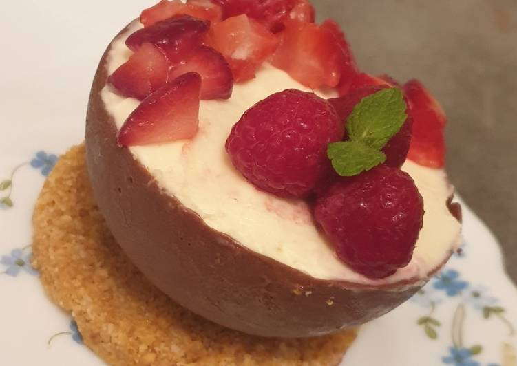 Le moyen le plus simple de Cuire Parfait Cheesecake revisité