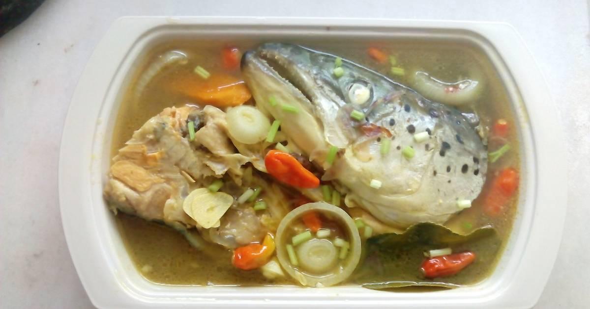 Resep Sup Asam Pedas Kepala Ikan Salmon Ala Resep Yuliea Lik Oleh Yuliea Lik 247 Cookpad