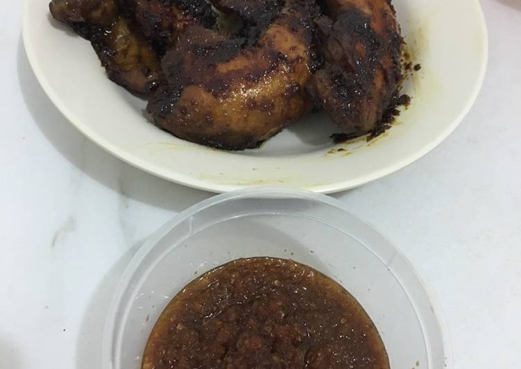 Ayam Bakar Kecap Mantul