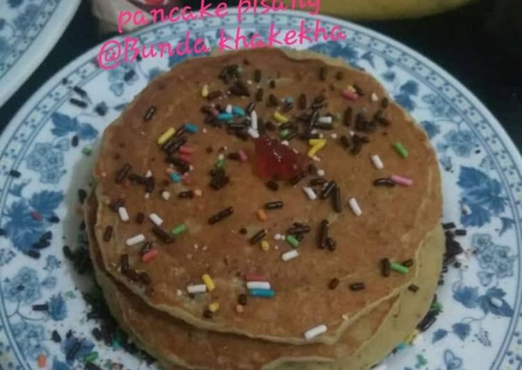 Resep Pancake pisang Paling dicari