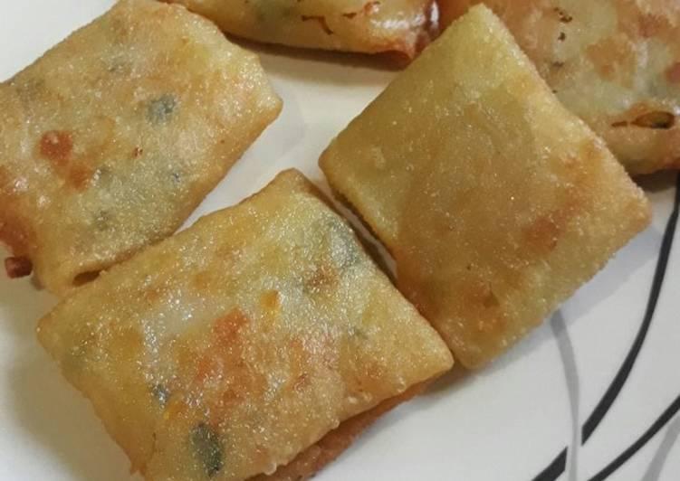 Martabak kentang wortel