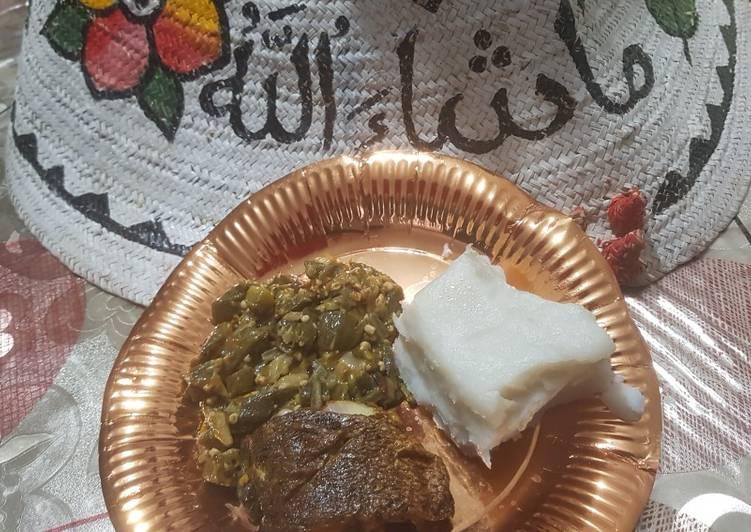 Step-by-Step Guide to Make Award-winning Lemony Okra served with sea bass and ugali(maizemeal)