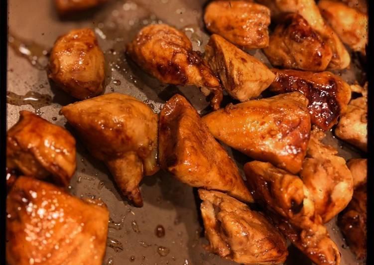 Ricetta Pollo con salsa di soia senza mandorle