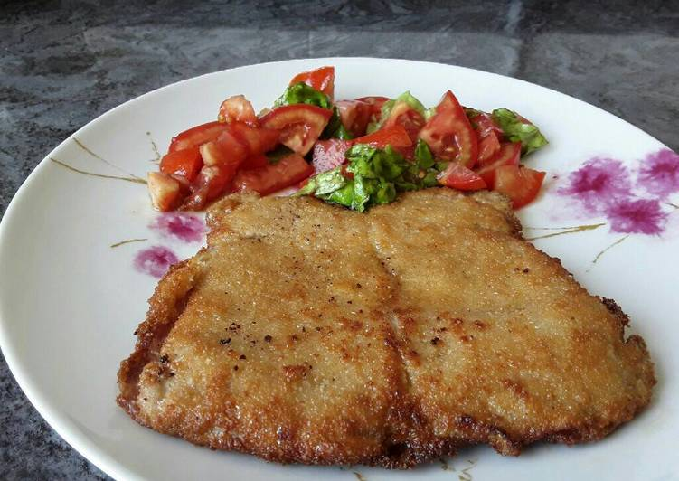 Filete ternera a la milanesa