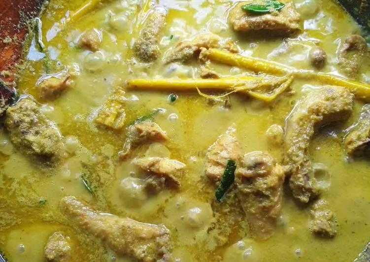 Rendang Ayam Kampung Cili Padi #marathonraya - velavinkabakery.com