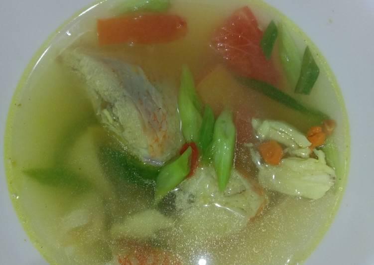Sup ikan nila simpel