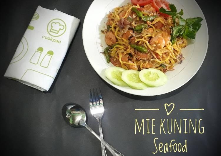 Mie Kuning Seafood
