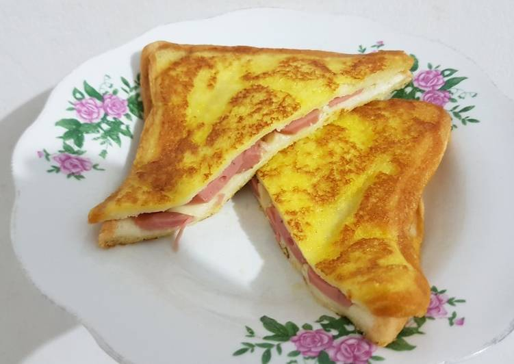Wajib Dicoba Resep Sandwich Telur Sosis Simple Enak