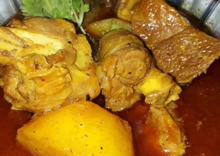 Mutton Steam Curry