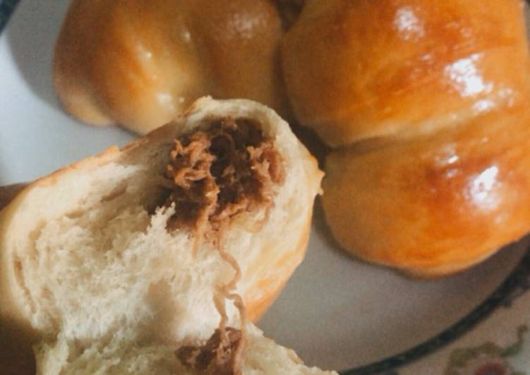Roti Manis Isi daging