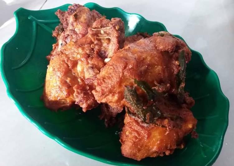 Ayam Goreng Ala Mamak - velavinkabakery.com