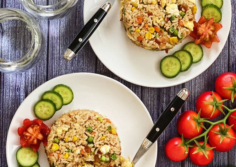 Recipe: Perfect Bacon Fried Rice