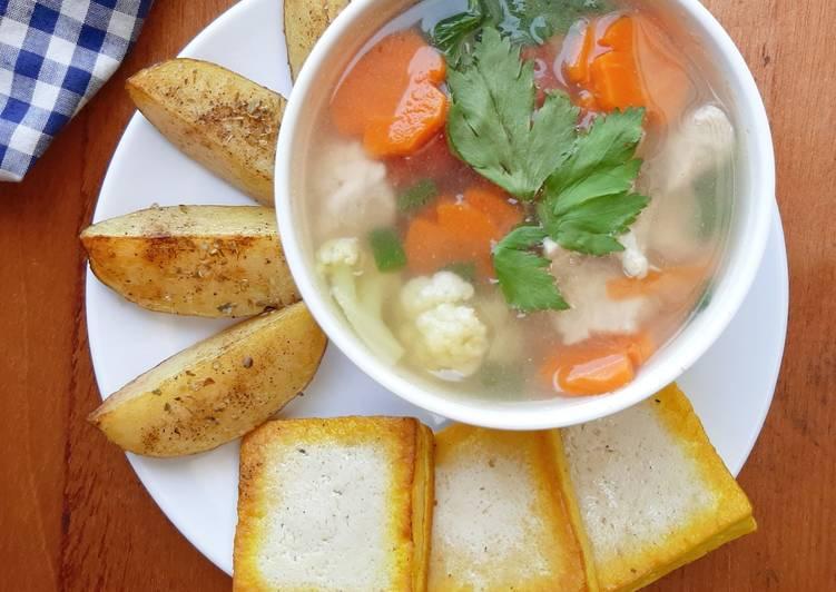 Resep Sop ayam (menu diet), Menggugah Selera