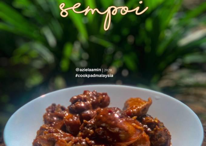 Ayam masak kicap Sempoi