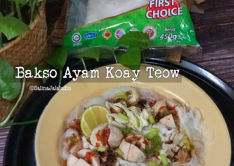 Bakso Ayam Koay Teow - velavinkabakery.com