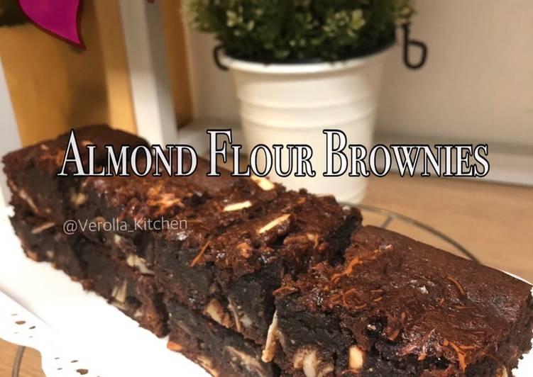 Cara Memasak Resep Mantab Dari Almond Flour Brownies