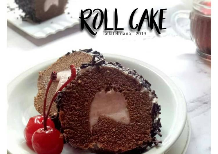 Roll cake versi KUKUS