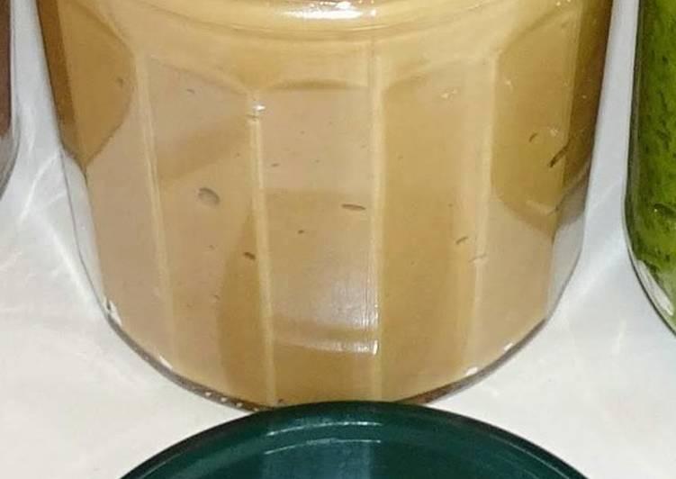 Beurre de cacahuète (vegan)