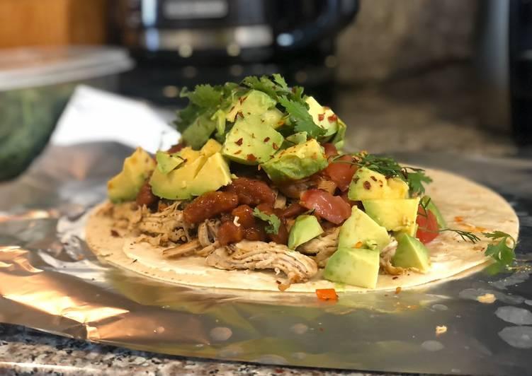 Recipe: Yummy Burrito de Pollo