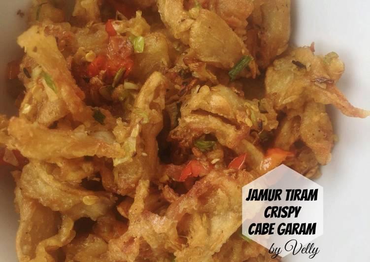 Jamur Tiram Crispy Cabe Garam