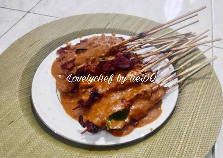 Sate Ayam bumbu blora - cookandrecipe.com